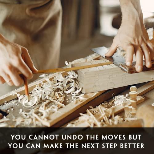 aGreatLife Holz – Schachspiel: Universales Standard Holz Schachbrettspielsatz – Handgefertigte Holzspielstücke, Schachfiguren – mit 15-Zoll Brett und Mit Magnetverschluss – Perfektes Anfänger – Schachspiel für Kinder - 4