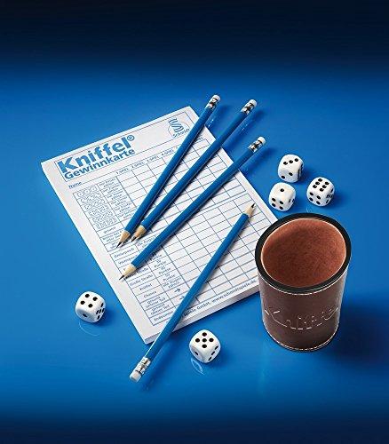Schmidt Spiele 49203 Classic Line: Kniffel mit gr. Würfeln & Block - 3