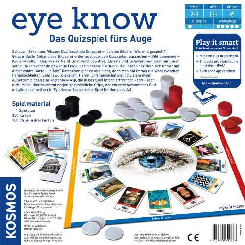 Kosmos 692223 – Eye Know – Play it smart, Familienspiel - 4