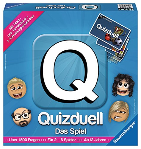 Ravensburger 27207 – Quizduell, Das Brettspiel - 2