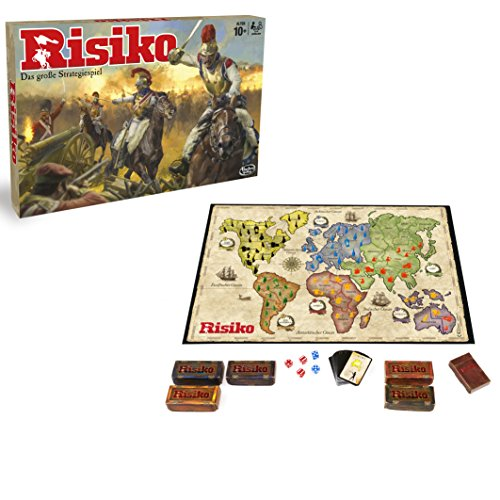 Hasbro Spiele B7404100 - Risiko - Edition 2016, Strategiespiel