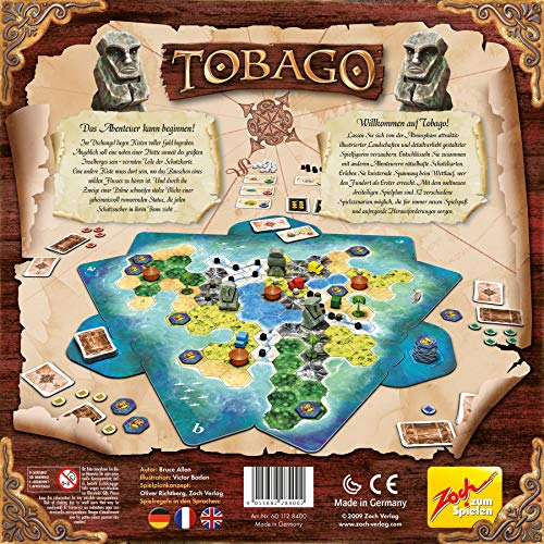 Zoch 601128400 – Tobago, Familienspiel - 2