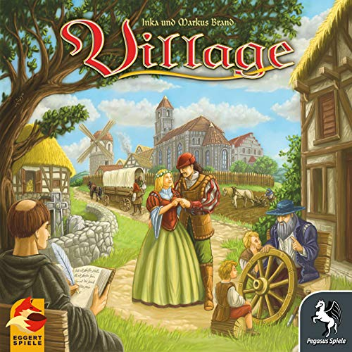 Pegasus Spiele 54510G – Village (deutsch/englische Ausgabe), Kennerspiel des Jahres 2012 - 5