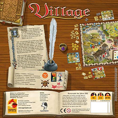 Pegasus Spiele 54510G – Village (deutsch/englische Ausgabe), Kennerspiel des Jahres 2012 - 2