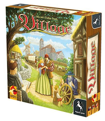 Pegasus Spiele 54510G – Village (deutsch/englische Ausgabe), Kennerspiel des Jahres 2012 - 3