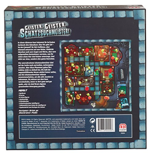 Mattel Y2554 – Geister Geister Schatzsuchmeister, Strategiespiel - 2