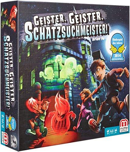 Mattel Y2554 – Geister Geister Schatzsuchmeister, Strategiespiel - 8