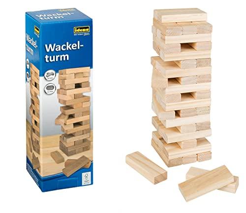 Idena 6060013 - Wackelturm, 54 Teile