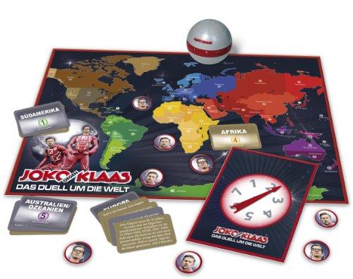 Clementoni 69021.3 – Joko und Klaas – Das Duell um die Welt, Brettspiel - 2