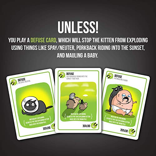 Exploding Kittens: NSFW Edition (Explicit Content) - 2