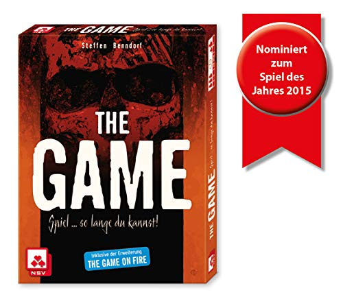 Nürnberger Spielkarten 4034 - The Game - Kartenspiel