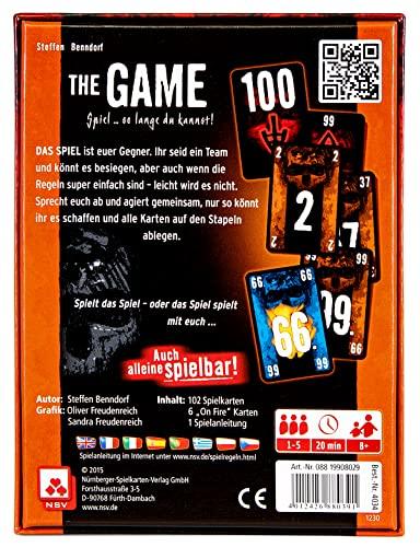 Nürnberger Spielkarten 4034 – The Game – Kartenspiel - 2