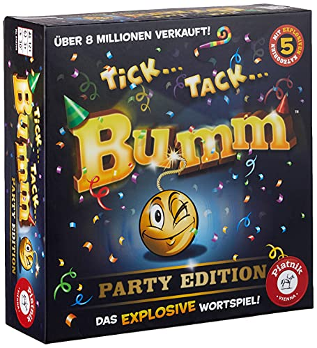 Piatnik  648366 - Tick Tack Bumm Party Edition