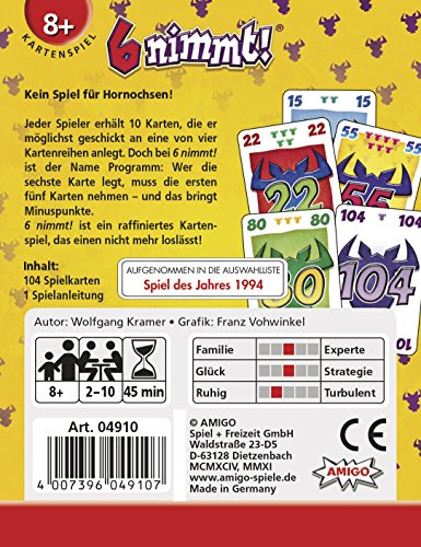 Amigo 4910 – 6 nimmt!, Kartenspiel - 3