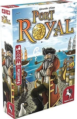 Pegasus Spiele 18114G - Port Royal - Händler der Karibik, Kartenspiel