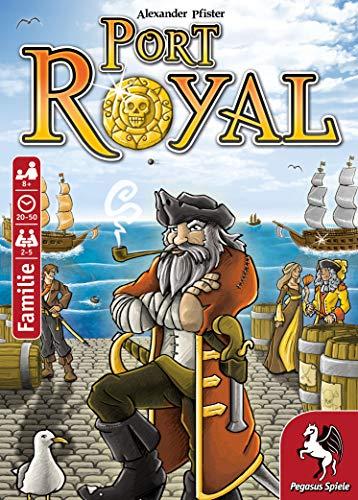 Pegasus Spiele 18114G – Port Royal – Händler der Karibik, Kartenspiel - 4