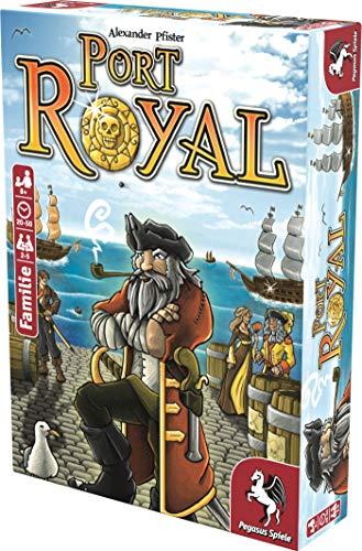 Pegasus Spiele 18114G – Port Royal – Händler der Karibik, Kartenspiel - 5