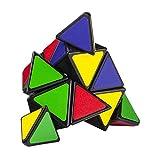 Cubikon Speed Pyraminx Ultimate – Magische Pyramide – Pyraminx Zauberwürfel schwarz - 3
