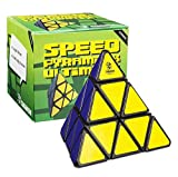 Cubikon Speed Pyraminx Ultimate – Magische Pyramide – Pyraminx Zauberwürfel schwarz - 6