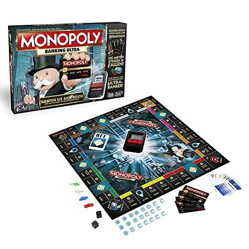 Hasbro B6677100 - Monopoly Banking Ultra, Familienspiel