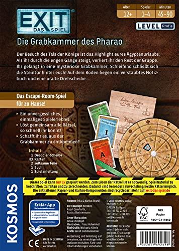 KOSMOS Spiele 692698 – Exit – Das Spiel, Die Grabkammer des Pharao - 7