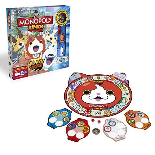 Hasbro Spiele B6494100 - Monpoly Yokai Watch Junior, Familienspiel