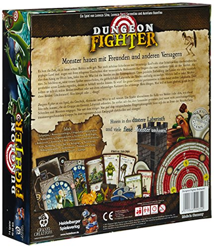 Heidelberger Spieleverlag HE415 – Dungeon Fighter deutsch - 4