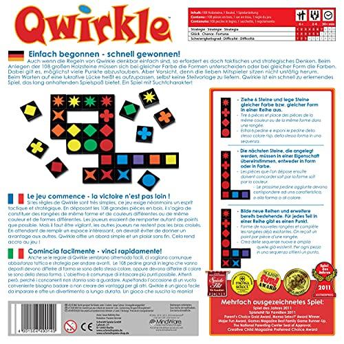 Schmidt Spiele 49014 – Qwirkle Legespiel, Spiel des Jahres 2011 - 2