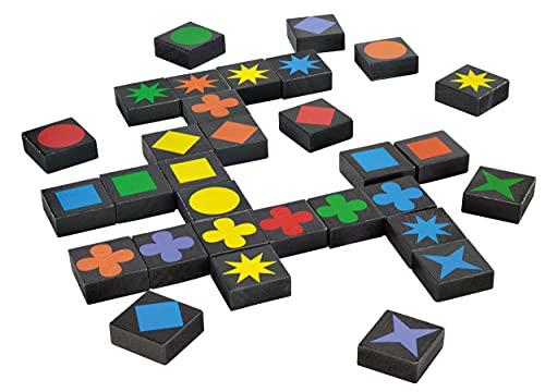 Schmidt Spiele 49014 – Qwirkle Legespiel, Spiel des Jahres 2011 - 6