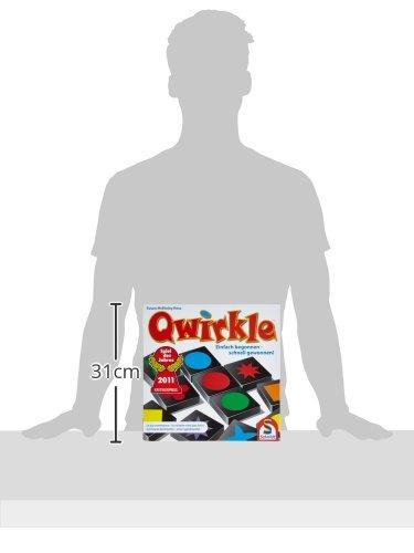 Schmidt Spiele 49014 – Qwirkle Legespiel, Spiel des Jahres 2011 - 7