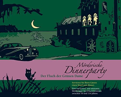 Blaubart Verlag BLA00004 - Mörderische Dinnerparty, Der Fluch der Grünen Dame
