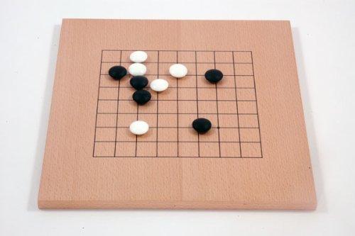 Go-Spiel: 9×9/13×13 Buchenfurnierbrett - 2