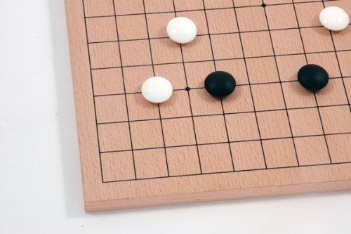 Go-Spiel: 9×9/13×13 Buchenfurnierbrett - 3