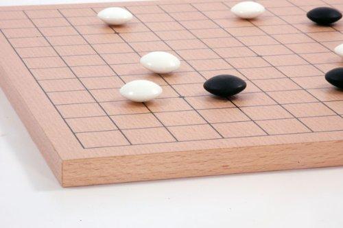 Go-Spiel: 9×9/13×13 Buchenfurnierbrett - 4
