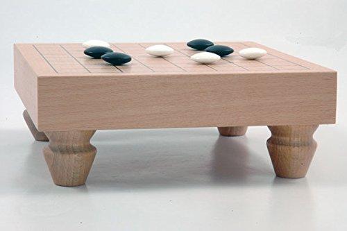Go-Spiel: 9×9-Tisch-Set, dunkel - 3