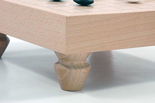 Go-Spiel: 9×9-Tisch-Set, dunkel - 4