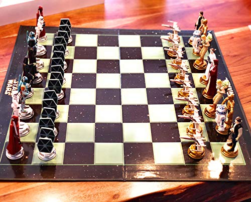 Unitedlabels - 0805343 - Chess Game - Schachspiel - Star Wars