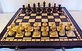 ChessEbook Schachspiel + Dame + Backgammon 52 x 52 cm Holz