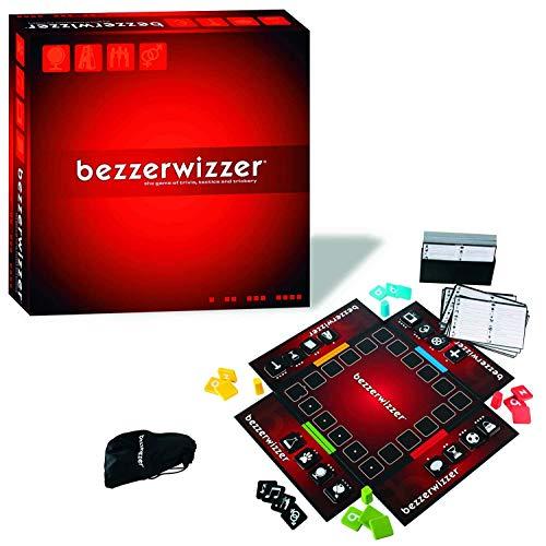 Mattel V9913 - Spiele - Bezzerwizzer rot, Brettspiel