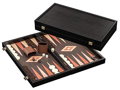 Philos 1816 - Backgammon Elassa - Familien Standardspiel, groß
