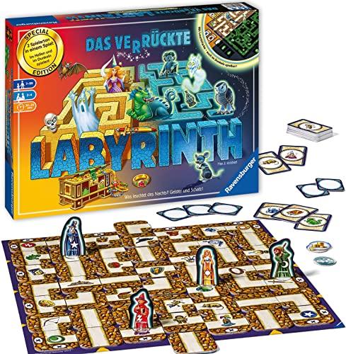 Ravensburger Spiele 26687 - Das verrückte Labyrinth - 30 Jahre Jubiläumsedition, Strategiespiel