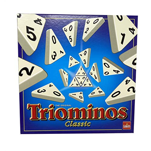 Goliath 60.630.101 - Triominos Classic - 56 Spielsteine