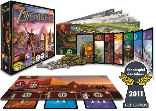 Asmodée Editions 692053 - 7 Wonders, Kennerspiel des Jahres 2011