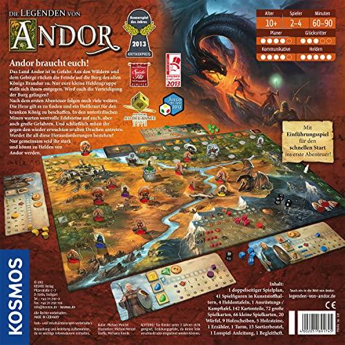 KOSMOS 691745 – Die Legenden von Andor, Kennerspiel des Jahres 2013 - 2