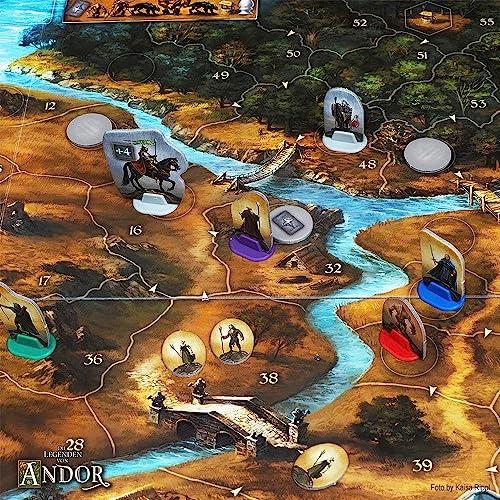 KOSMOS 691745 – Die Legenden von Andor, Kennerspiel des Jahres 2013 - 7