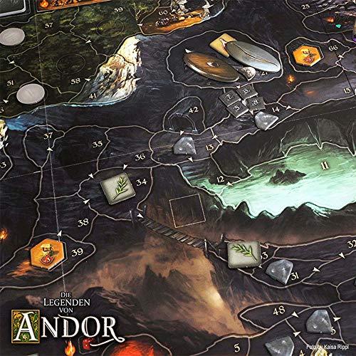 KOSMOS 691745 – Die Legenden von Andor, Kennerspiel des Jahres 2013 - 8