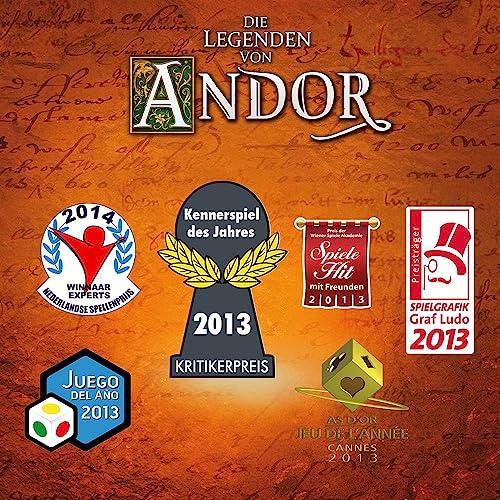 KOSMOS 691745 – Die Legenden von Andor, Kennerspiel des Jahres 2013 - 9