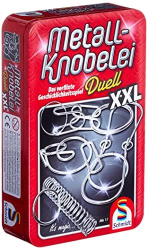 Schmidt Spiele 51234 Metall-Knobelei XXL in schöner Metalldose