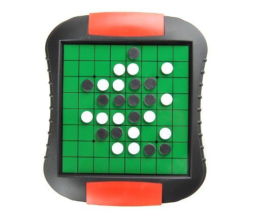 Monaco Reversi, magnetisches Brettspiel, Größe Medium: Abmessungen 27,2 x 23,7 x 3,5 cm, Mod. SC9612 DE - 2
