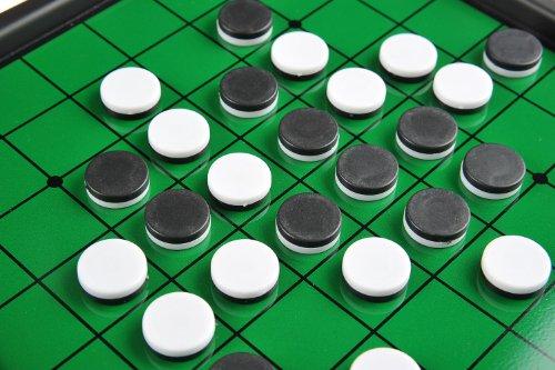 Monaco Reversi, magnetisches Brettspiel, Größe Medium: Abmessungen 27,2 x 23,7 x 3,5 cm, Mod. SC9612 DE - 3